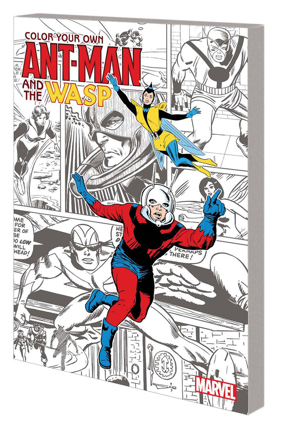 Color Your Own Ant-Man And Wasp Tp                                                                                 Adult Coloring Book