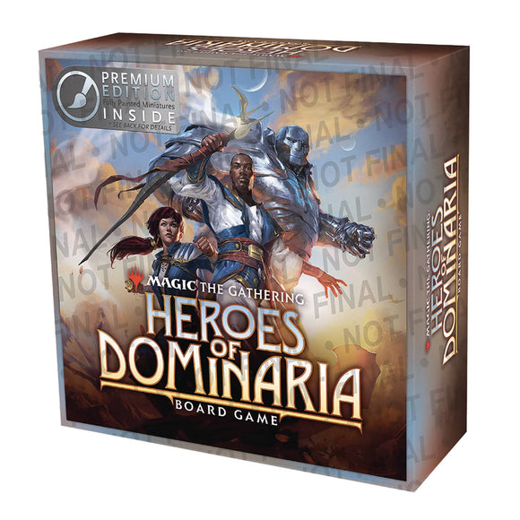Magic The Gathering: Heroes Of Dominaria Board Game Premium Edition