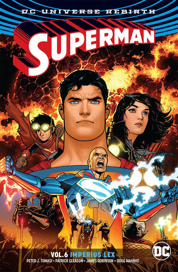 SUPERMAN TP VOL 06 IMPERIUS LEX - REBIRTH - Books