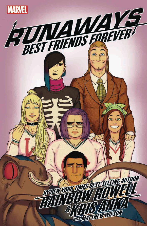 Runaways By Rainbow Rowell Tp Vol 02 Best Friends Fore