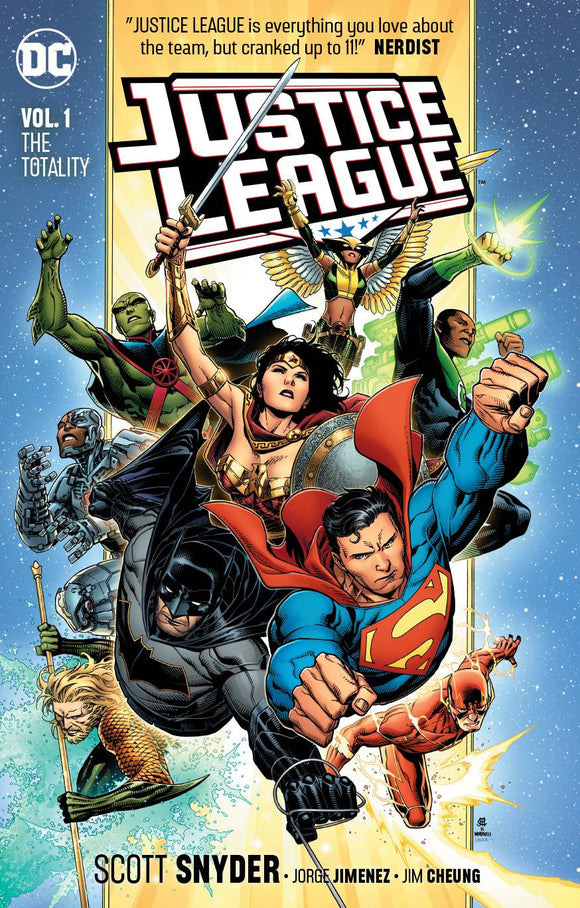 JUSTICE LEAGUE TP VOL 01 THE TOTALITY TP - Books