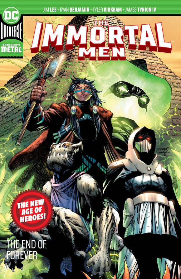 IMMORTAL MEN TP THE END OF FOREVER - Books