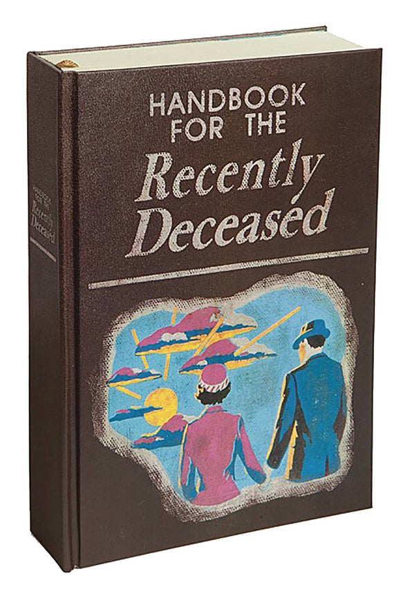 Beetlejuice Handbook For Recently Deceased Hc Journal - Insight Editions