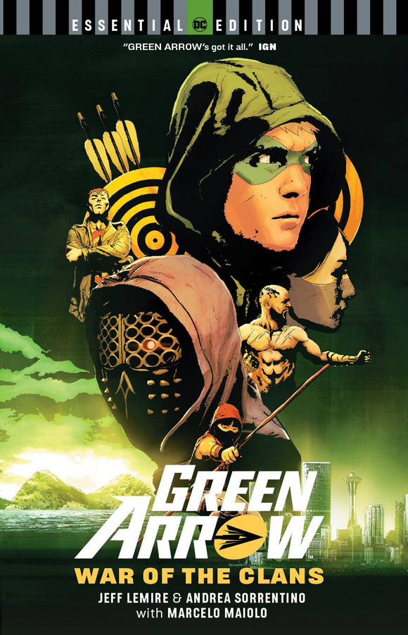 GREEN ARROW WAR OF THE CLANS ESSENTIAL EDITION TP - Books