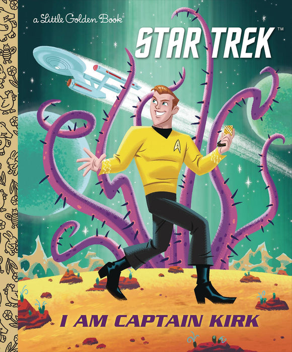 Star Trek I Am Captain Kirk Little Golden Book