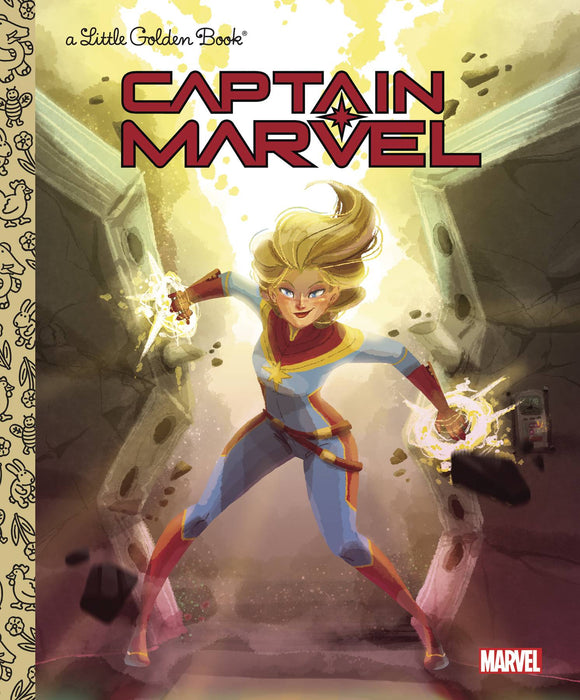 Marvel Captain Marvel Little Golden Book