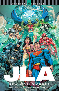 JLA NEW WORLD ORDER TP ESSENTIAL EDITION - Books
