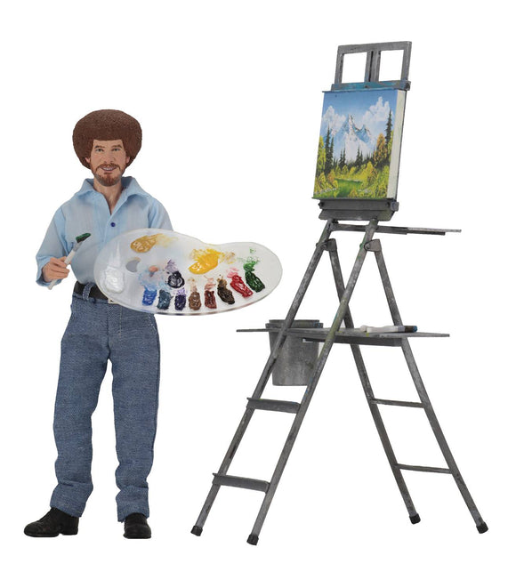 BOB ROSS 8IN RETRO AF  - Toys and Models