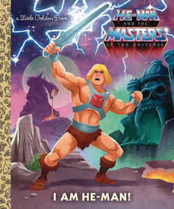 Motu I Am He-Man Little Golden Book