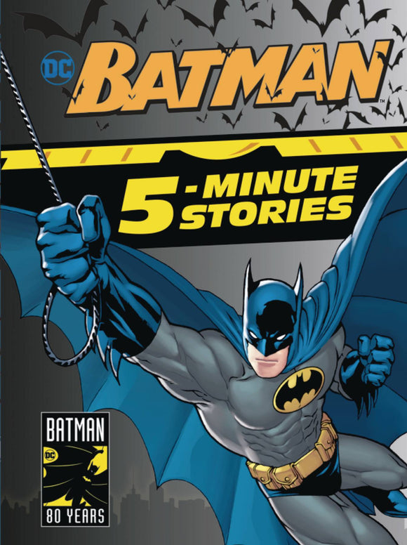 Batman 5 Minute Stories Collection Hc