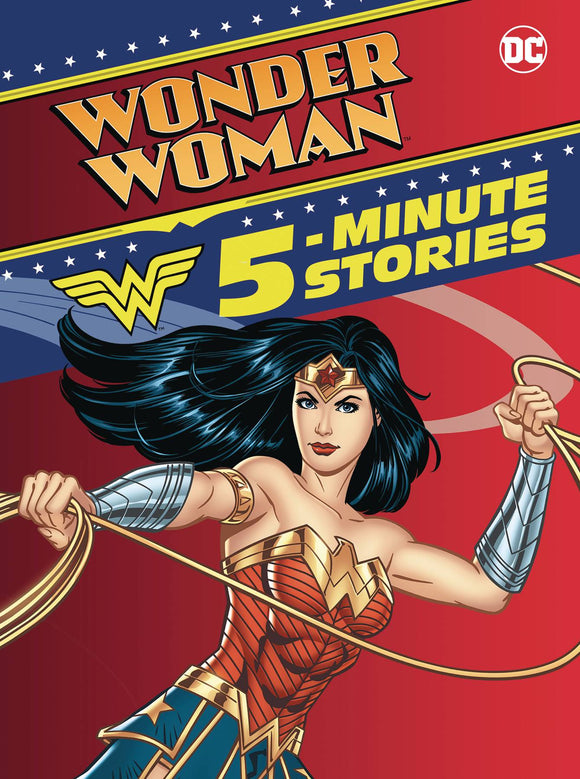 WONDER WOMAN 5 MINUTE STORIES COLLECTION HC  - Books