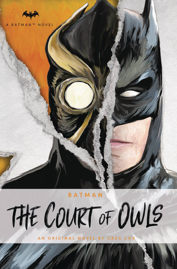 Dc Comics Novels Batman Court Of Owls Mmpb