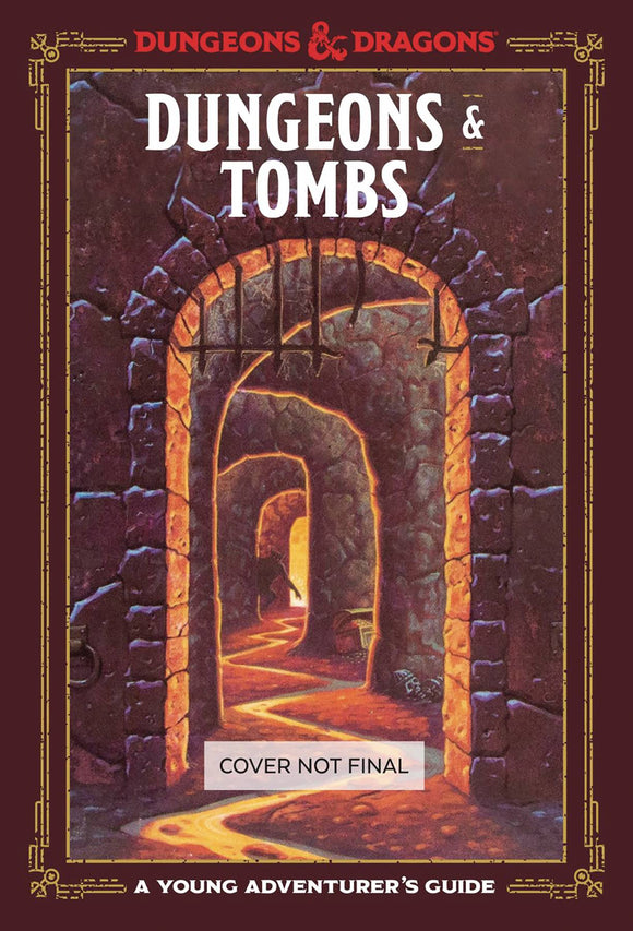 Dungeons & Tombs Young Adventurers Guide D&D Hc