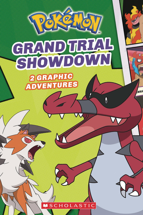 Pokemon Comic Novel Gn #2 Grand Trial Showdown