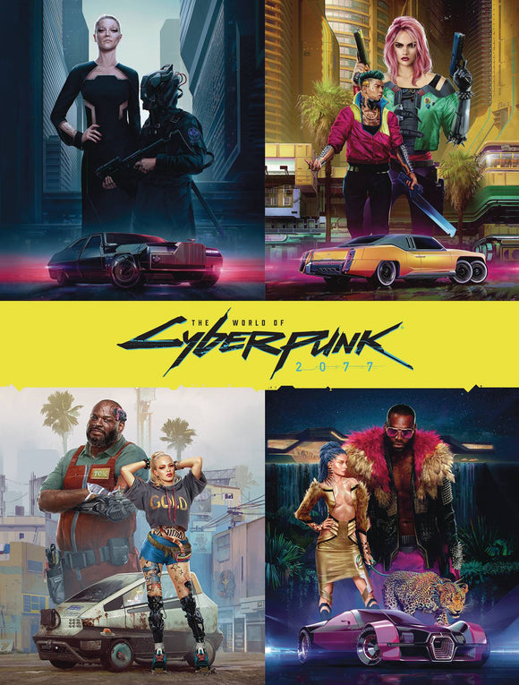WORLD OF CYBERPUNK 2077 HC - Books
