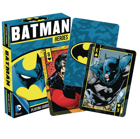 Dc Heroes Batman Playing Cards