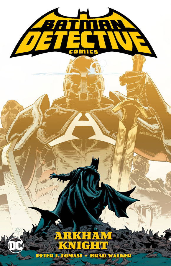 BATMAN DETECTIVE COMICS VOL 02 ARKHAM KNIGHT TP - Books