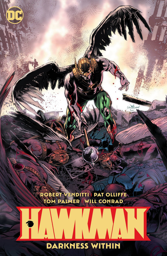 HAWKMAN VOL 03 DARKNESS WITHIN TP - Books