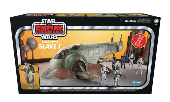 SW SLAVE ONE VINTAGE 3-3/4IN SCALE  AF - Toys and Models