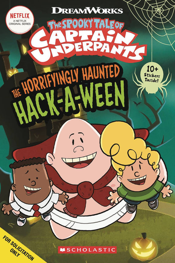 CAPT UNDERPANTS COMIC READER #1 HAUNTED HACKAWEEN  - Books
