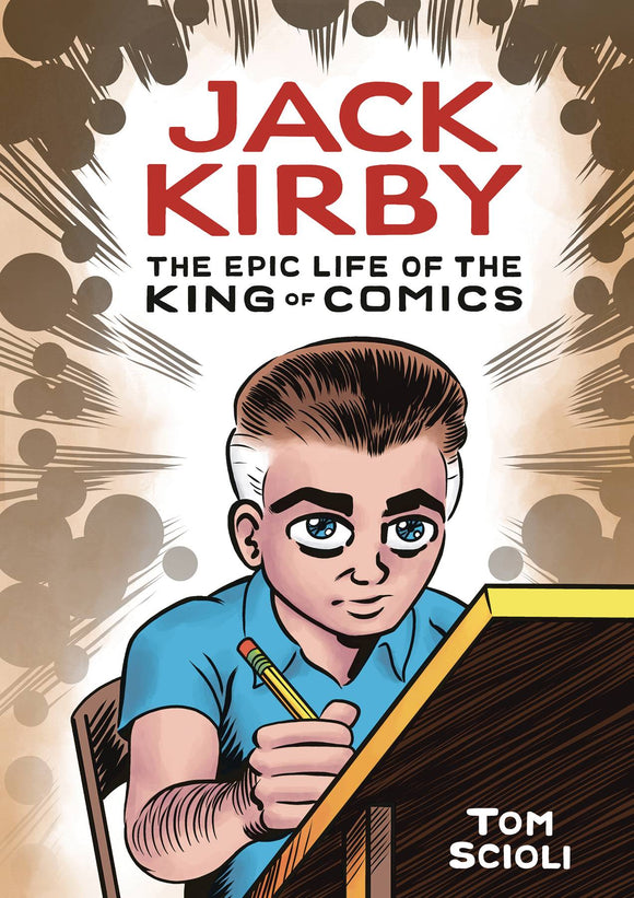 JACK KIRBY EPIC LIFE KING OF COMICS HC GN - Books