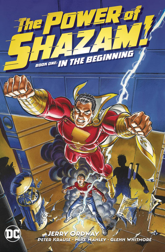 POWER OF SHAZAM HC BOOK 01 IN THE BEGINNING - Books