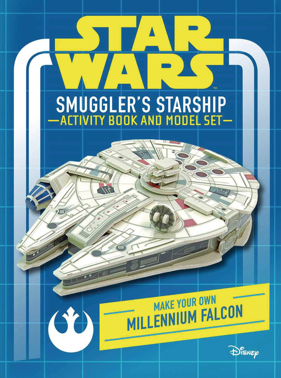 STAR WARS SMUGGLERS STARSHIP ACTIVITY BOOK & MODEL HC - Books