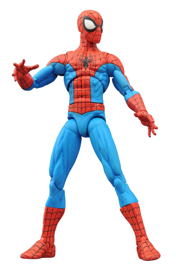 MARVEL SELECT SPIDER-MAN (SPECTACULAR) AF  - Toys and Models