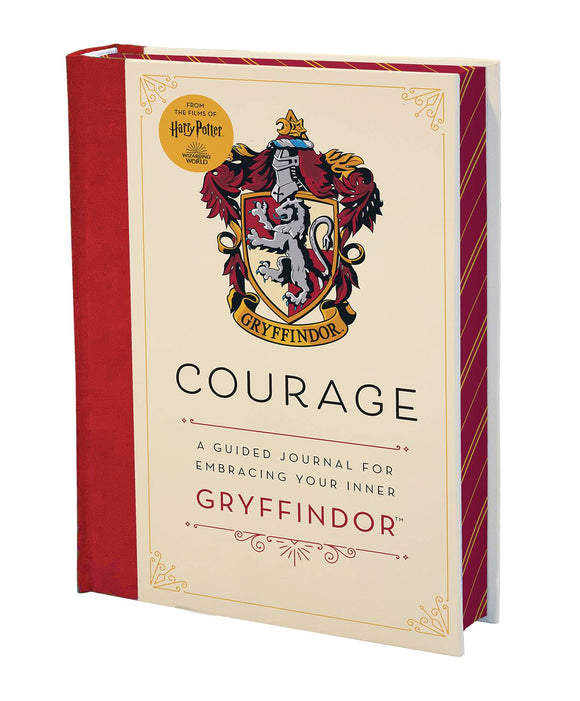 HARRY POTTER: COURAGE: A GUIDED JOURNAL FOR EMBRACING YOUR INNER GRYFFINDOR - Books