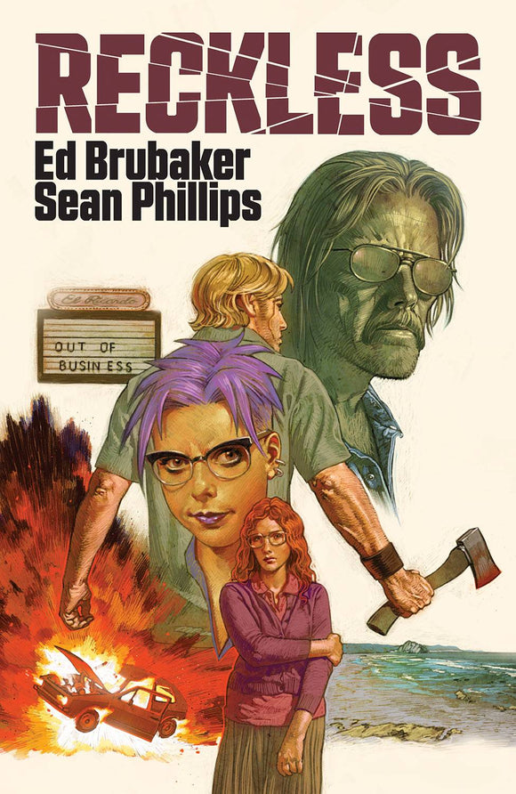 RECKLESS HC  - ED BRUBAKER / SEAN PHILLIPS - Books