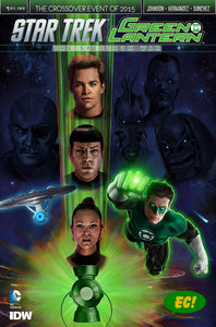 Star Trek Green Lantern #1 (of 6) EC Exclusive Variant Adam Riches