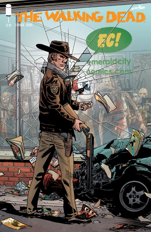 Walking Dead #1 15th Ann EC Exclusive Variant    Emerald City
