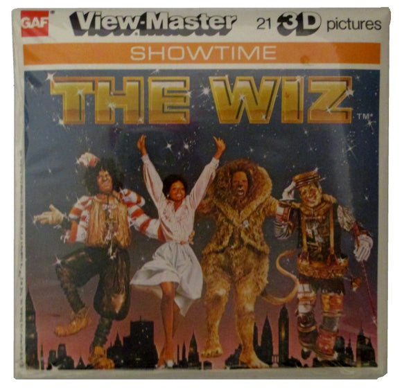 Wiz Sealed View-Master Vintage