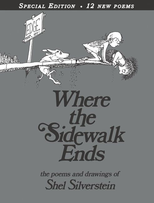 Where The Sidewalk Ends Poems And Drawings HC Shel Silverstein