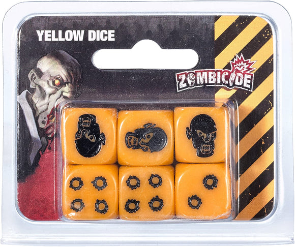 ZOMBICIDE: DICE - YELLOW