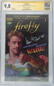 FIREFLY #1 EC EXCLUSIVE VARIANT - CGC 9.8 ADAM RICHES SIGNED 1