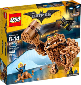 LEGO DC BATMAN MOVIE CLAYFACE SPLAT ATTACK 70904