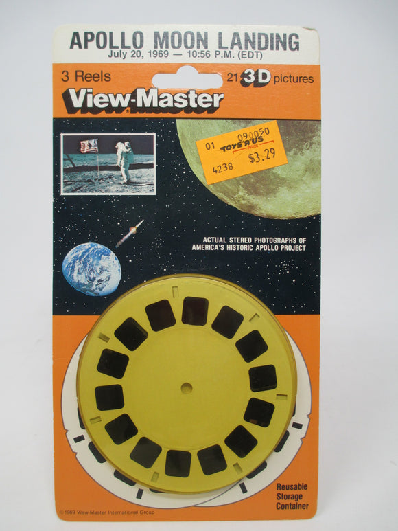 Apollo Moon Landing View-Master Vintage