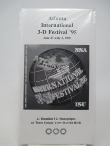 Atlanta NSA ISU International 3-D Festival 1995 View-Master Vintage
