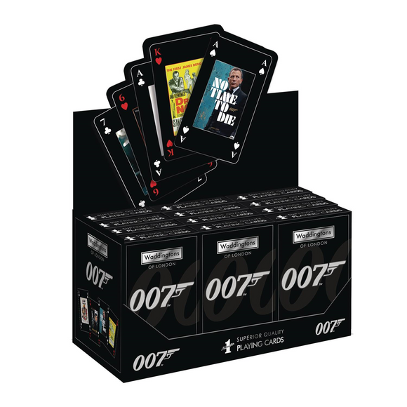 JAMES BOND 007 PLAYING CARDS - 1 DECK