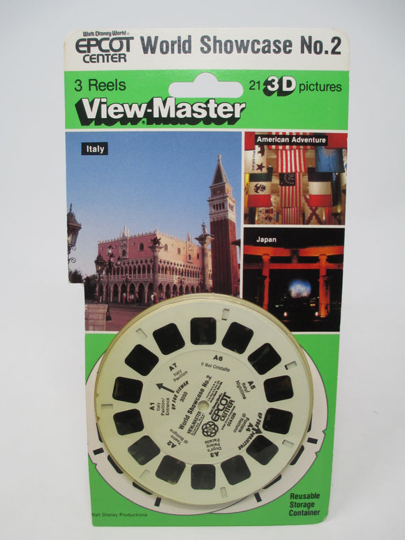 Walt Disney Epcot World Showcase No. 2 View-Master - B