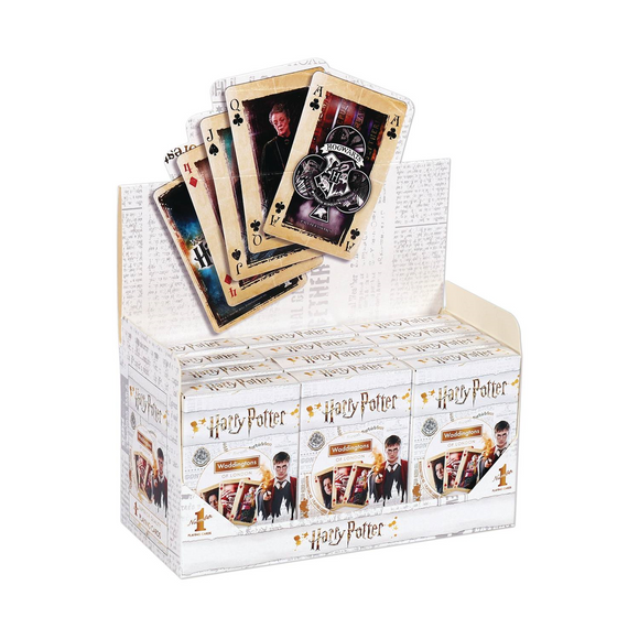 HARRY POTTER PLAYING CARDS - 1 DECK
