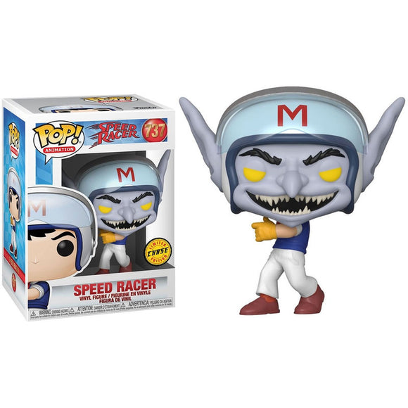 POP ANIMATION SPEED RACER HELMET (CHASE) VINYL FIG