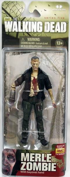 WALKING DEAD TV SERIES 5 MERLE ZOMBIE AF