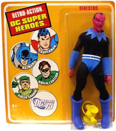WORLDS GREATEST DC HEROES SINESTRO RETRO AF 8IN