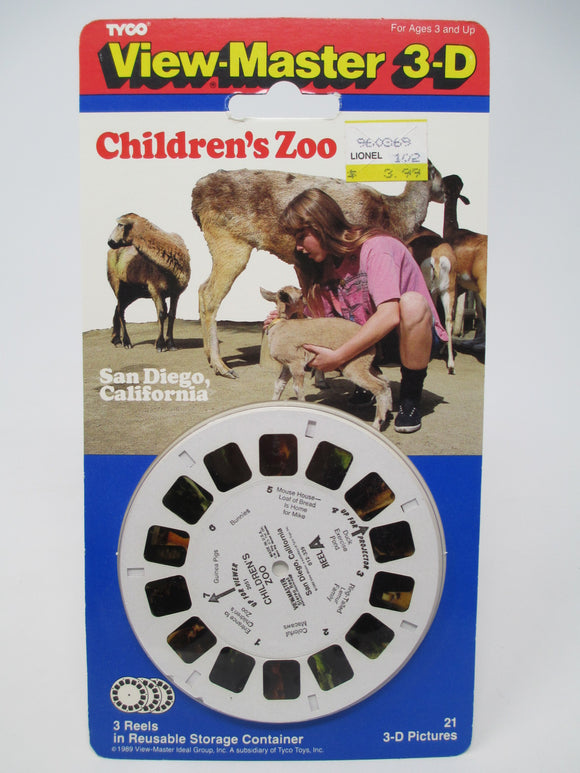 Children's Zoo San Diego California View-Master