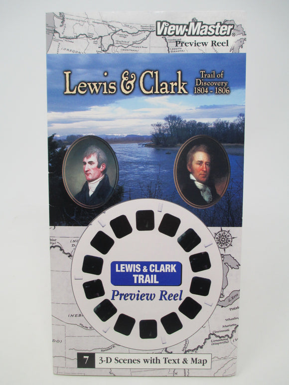Lewis & Clark Trail of Discovery #7 View-Master