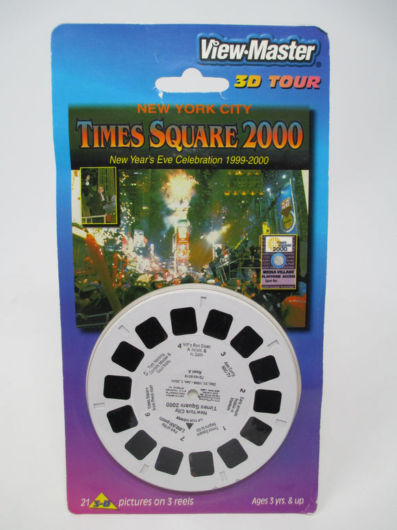 Times Square 2000 New Year's Eve New York City View-Master Vintage