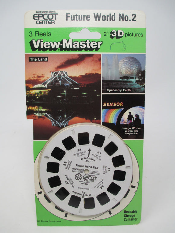 Walt Disney Epcot World Showcase No. 2 View-Master Vintage - 1