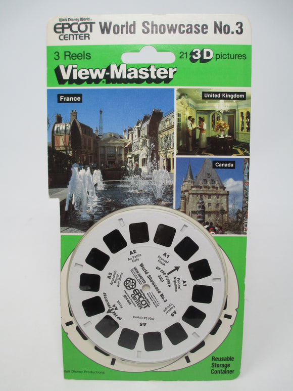 Walt Disney Epcot World Showcase No. 3 View-Master